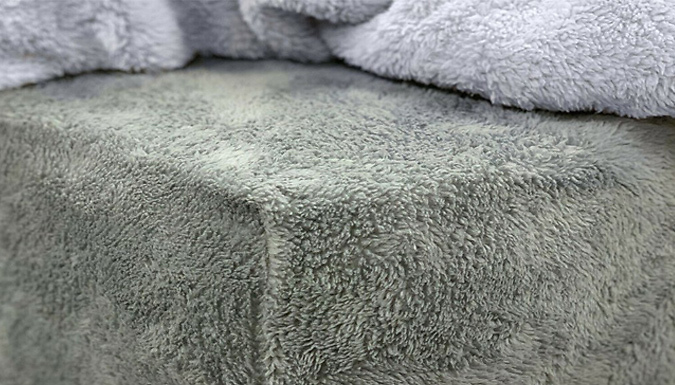 Teddy Fleece Thermal Fitted Bed Sheet - 8 Colours & 3 Sizes